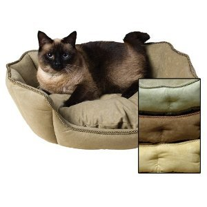 Kuddle Kup Faux Suede Cats Brown
