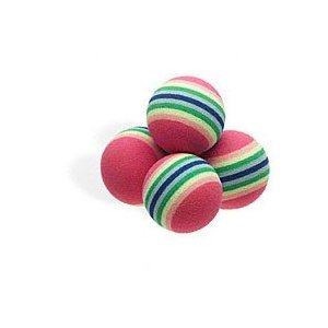 PETCO Rainbow Ball Cat Toys