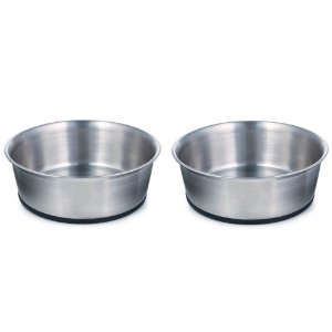 Rubber Bottom Stainless Steel Bowl Matching Bowls